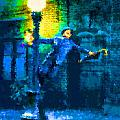 Singing In The Rain by Samuel Majcen