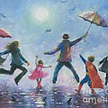 Singing In The Rain Super Hero Kids by Vickie Wade