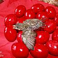 Singing Over Red Eggs by Augusta Stylianou