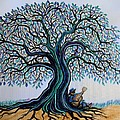 Singing Under The Blues Tree by Nick Gustafson