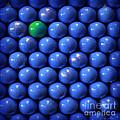 Single Green Ball by Danuta Bennett