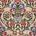 Single Stem Wallpaper Design, 1905 by John Henry Dearle
