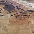 Sinkholes In Southern Dead Sea Area by Ofir Ben Tov