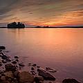 Sioux Narrows Sunset by Eduardo Tavares