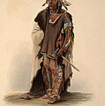 Sioux Warrior by Karl Bodmer