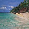 Siquijor Beach by Richard John Holden RA
