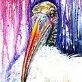 Sir Archibald Woodward Woodstork IIi by Ashley Kujan