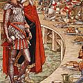Sir Galahad Is Brought To The Court Of King Arthur by Walter Crane