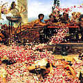 Sir Lawrence Alma Tadema by The Roses of Heliogabalus