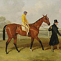 Sir Tatton Sykes Leading In The Horse Sir Tatton Sykes With William Scott Up by Harry Hall