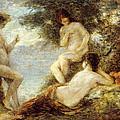 Sirens by Ignace Henri Jean Fantin-Latour