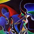 Sirens Scylla And Charybdis by Wolfgang Schweizer