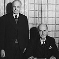 Sirs William And Lawrence Bragg by Omikron
