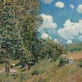 Sisley The Road, 1875 by Granger