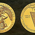 Sisseton Wahpeton Oyate Sioux Tribe Code Talkers Bronze Medal Art by Movie Poster Prints