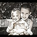 Sisters In Sepia by Alex Art and Photo