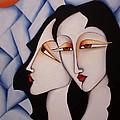 Sisters Under A Paper Sky by Simona  Mereu
