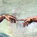 Sistine Chapel by SPL and Photo Researchers