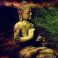 Sitting Buddha 2 by Susanne Van Hulst