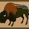Sitting Bull Buffalo by Digital Creation