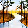 Sitting By The Lake by Nirdesha Munasinghe