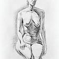 Sitting Model Study by Irina Sztukowski