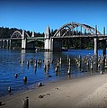 Siuslaw River Bridge Oregon by Nick Kloepping