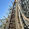 Six Flags America - Roar Roller Coaster - 12123 by DC Photographer