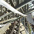 Six Flags America - Roar Roller Coaster - 12127 by DC Photographer