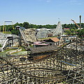 Six Flags America - Wild One Roller Coaster - 121210 by DC Photographer