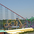 Six Flags America - Wild One Roller Coaster - 12123 by DC Photographer