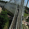 Six Flags America - Wild One Roller Coaster - 12129 by DC Photographer
