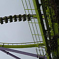 Six Flags Great Adventure - Medusa Roller Coaster - 12122 by DC Photographer