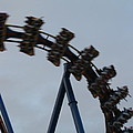 Six Flags Great Adventure - Medusa Roller Coaster - 12126 by DC Photographer