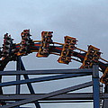 Six Flags Great Adventure - Medusa Roller Coaster - 12127 by DC Photographer