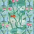 Six Of Cups by Sushila Burgess