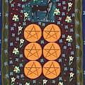 Six Of Pentacles by Sushila Burgess