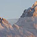 Six Peaks Of The Teton Mountain Range by Wildlife Fine Art