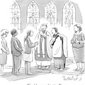 Six People In Church by Liam Walsh