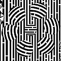 Six Shooter Illusion Maze  by Yonatan Frimer Maze Artist