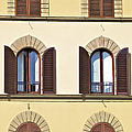 Six Windows Of Florence by David Letts