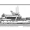 Sixtyfive Foot Defever Trawler Yacht by Jack Pumphrey