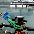 Skagway Dock by Michael Moore