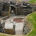Skara Brae Dwelling by Denise Mazzocco