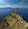 Skaros On Santorini by Gary Eason
