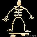 Skateboard Skeleton by Gavin Bates