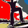 Skateboarder by Chris Butler