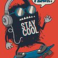 Skater Monster by Braingraph