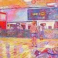 Skating Break by Kendall Kessler
