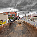 Dump Truck Skateboarding In Balboa Street by Daniel Furon